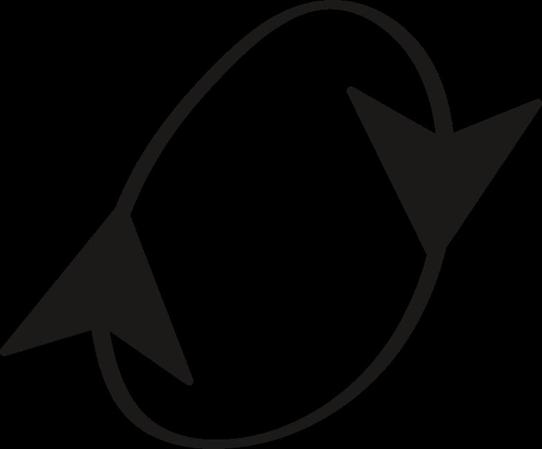 tk black round arrow Clipart illustration in PNG, SVG