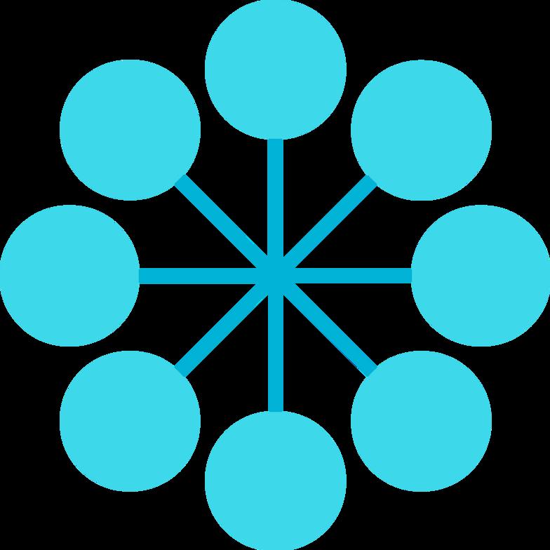 Imágenes vectoriales e blue gls euler círculos en PNG y SVG estilo  | Ilustraciones Icons8