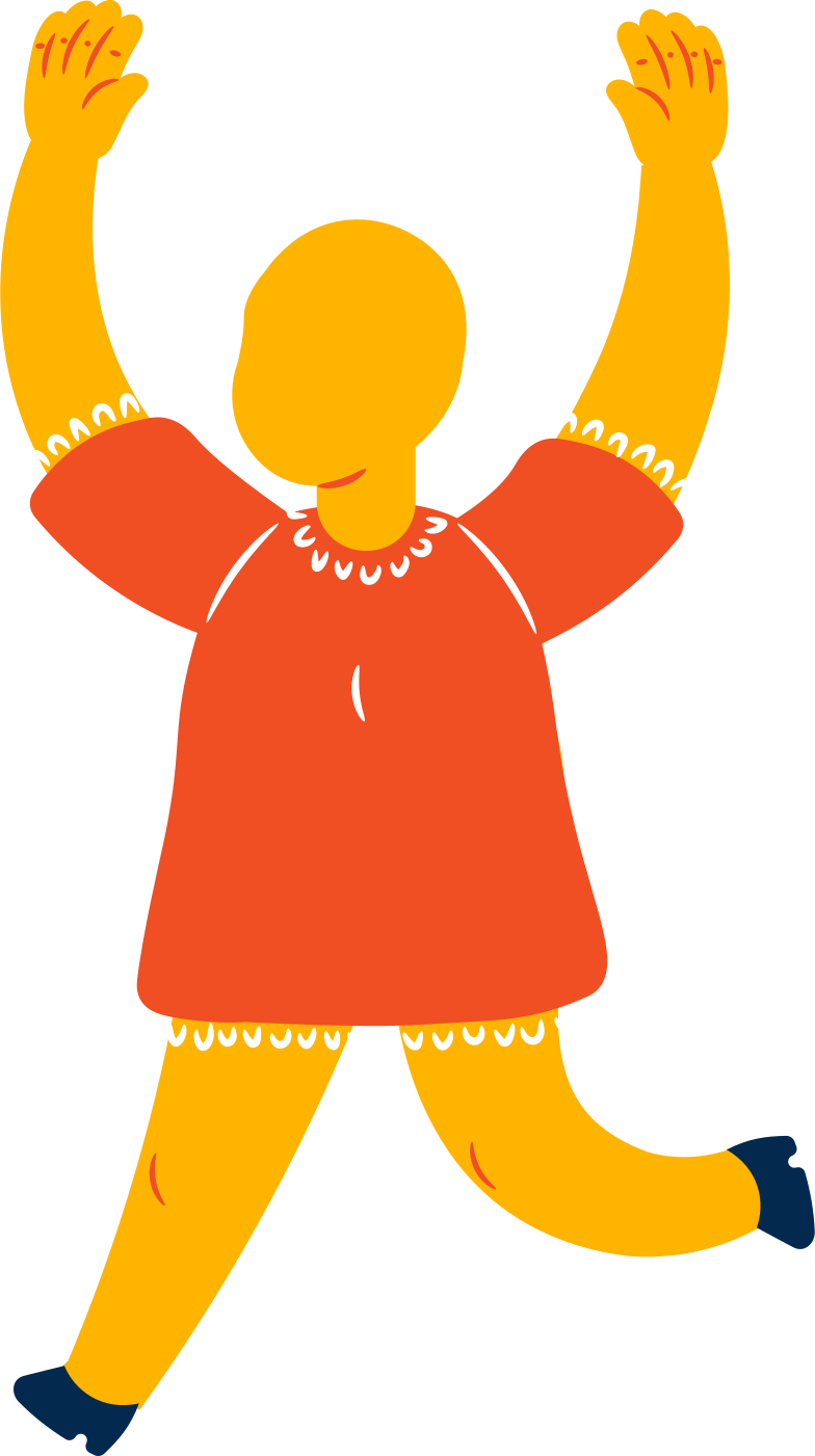 style fat girl jumping Vector images in PNG and SVG | Icons8 Illustrations