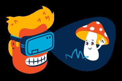 Иллюстрация VR в стиле  в PNG и SVG | Icons8 Иллюстрации