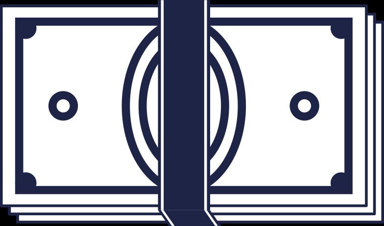 banknote Clipart illustration in PNG, SVG