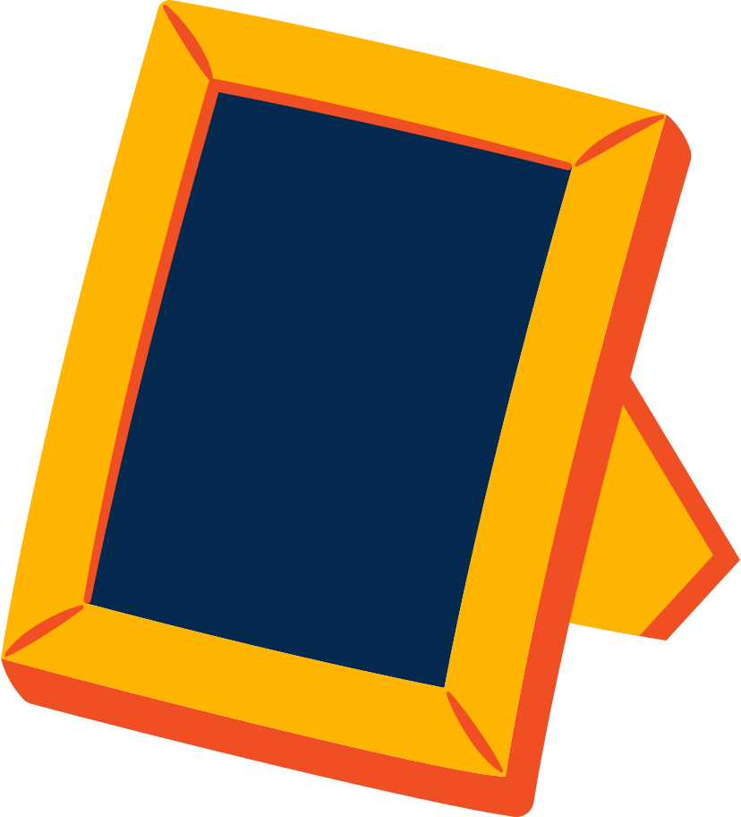 photo frame Clipart illustration in PNG, SVG