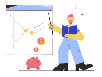 style Business plan concept  images in PNG and SVG | Icons8 Illustrations
