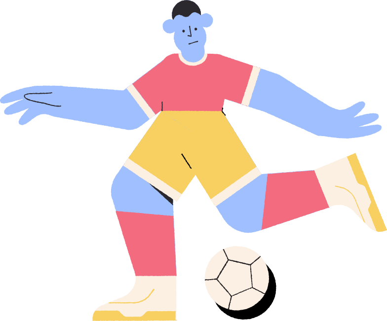style footballer Vector images in PNG and SVG | Icons8 Illustrations