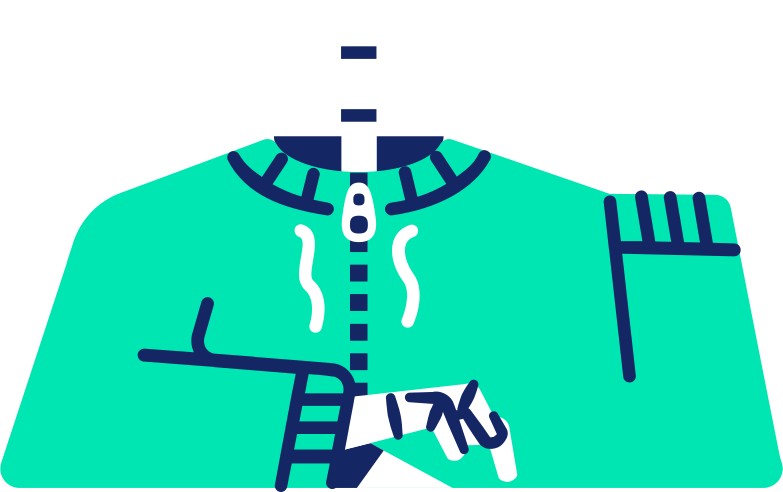 skeleton body Clipart illustration in PNG, SVG