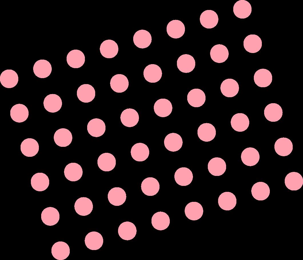 dots pink Clipart illustration in PNG, SVG