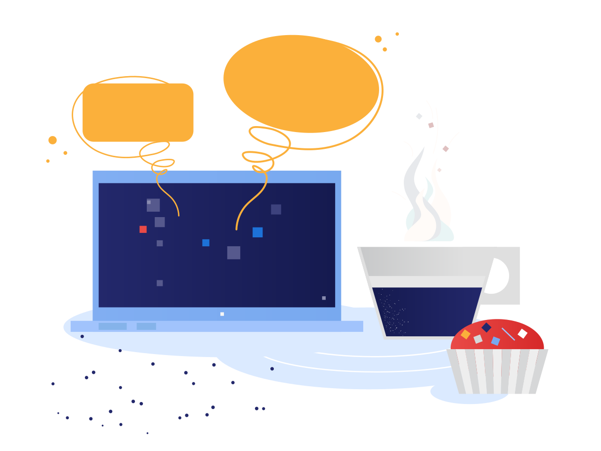 Chatting in cafe Clipart illustration in PNG, SVG