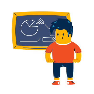 style Student near the blackboard images in PNG and SVG | Icons8 Illustrations