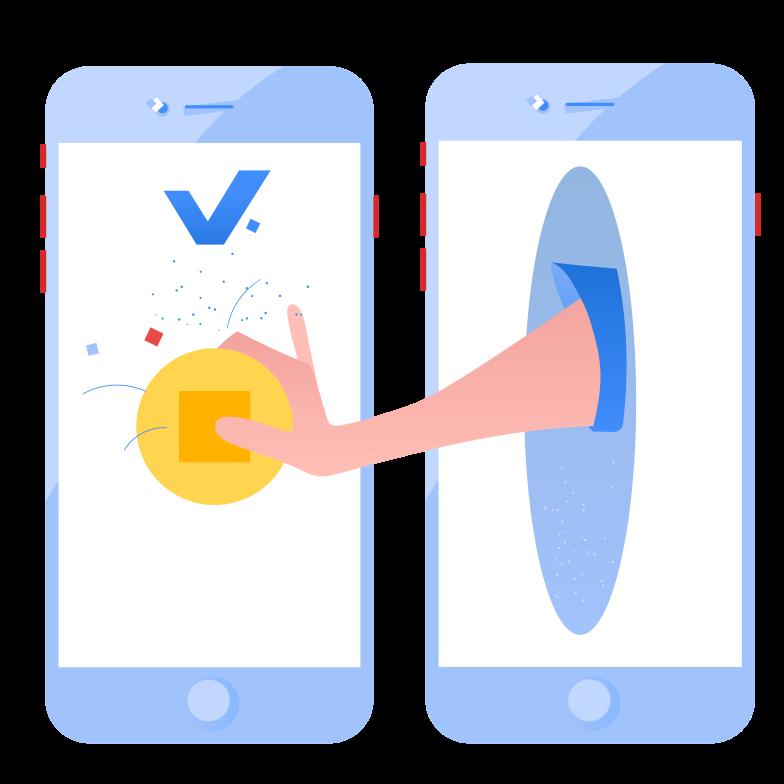 Send money Clipart illustration in PNG, SVG