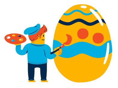 style  Easter egg painting images in PNG and SVG   Icons8 Illustrations