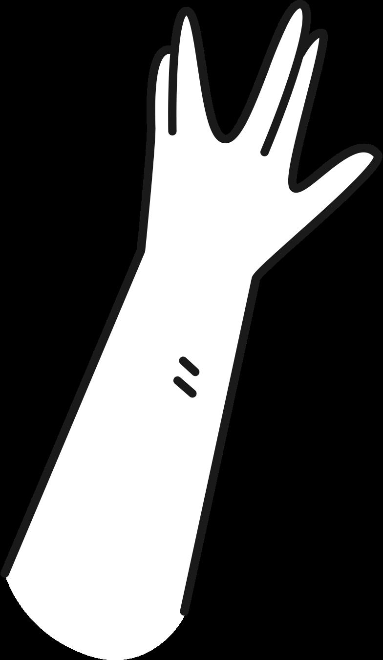 hand spock Clipart illustration in PNG, SVG