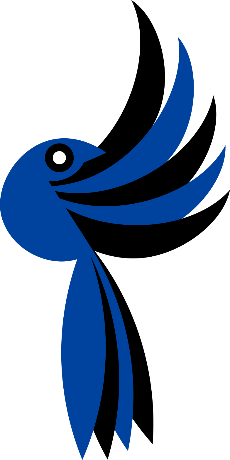 style blue bird Vector images in PNG and SVG | Icons8 Illustrations