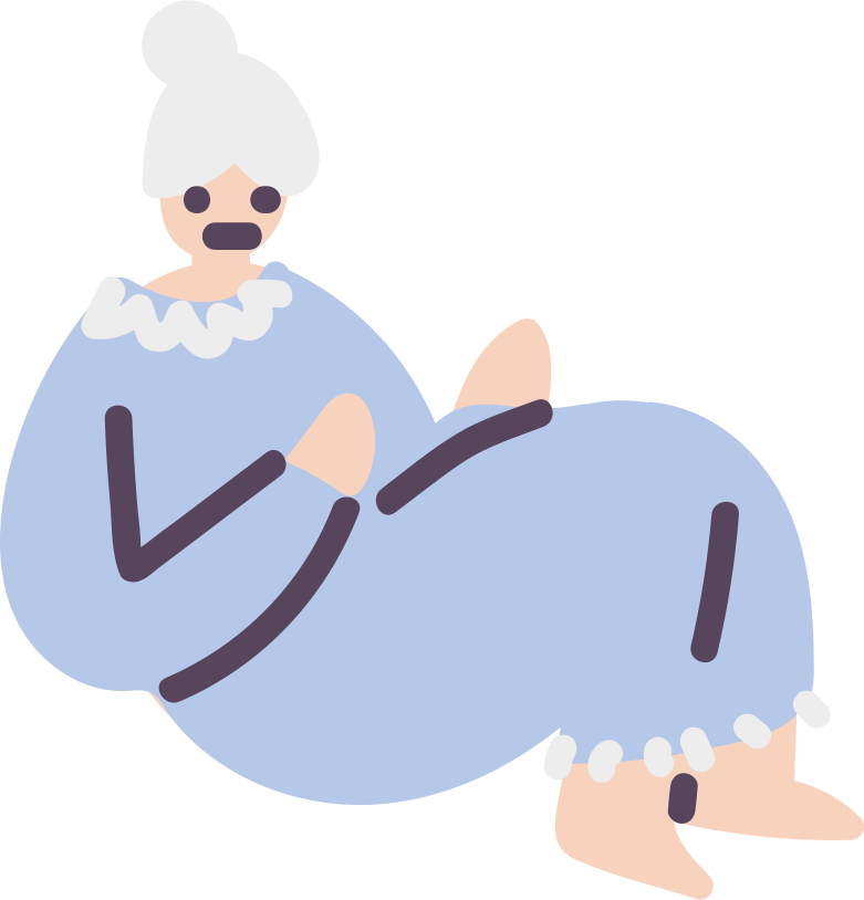 grandmother Clipart illustration in PNG, SVG