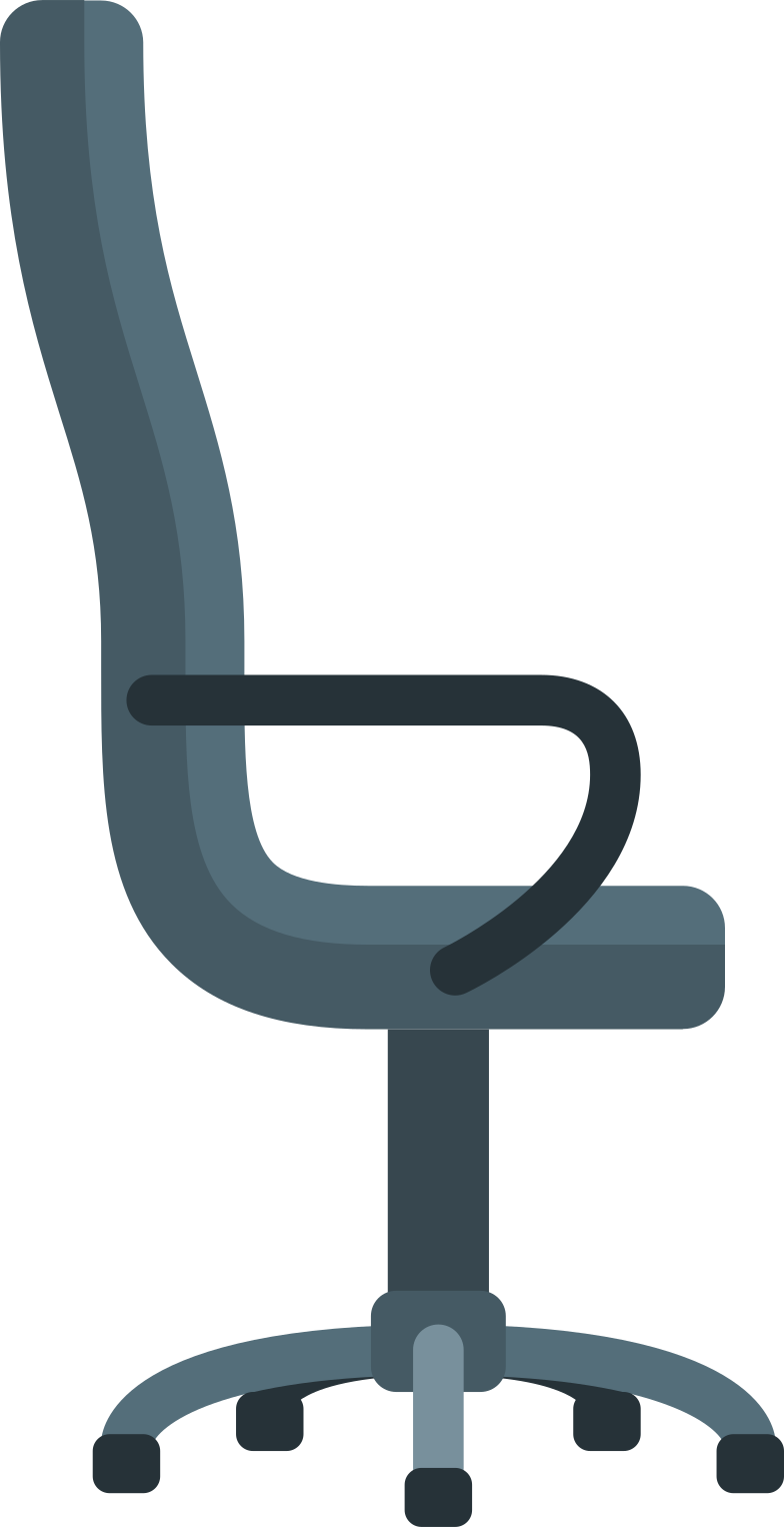 office chair Clipart illustration in PNG, SVG
