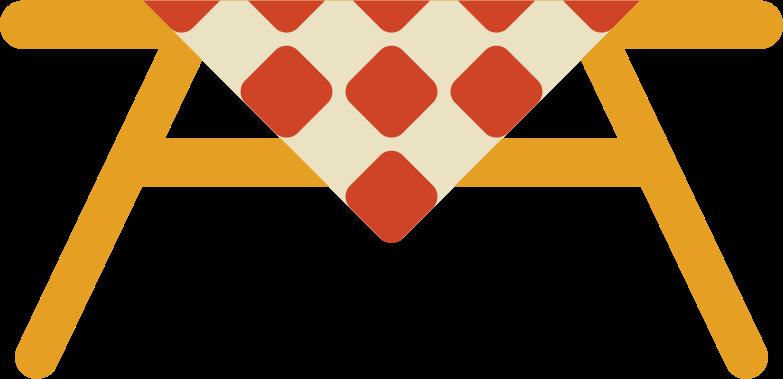 picinc table Clipart illustration in PNG, SVG