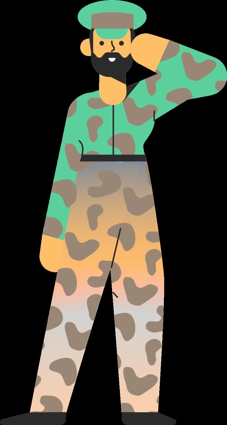 Клипарт Военные в PNG и SVG