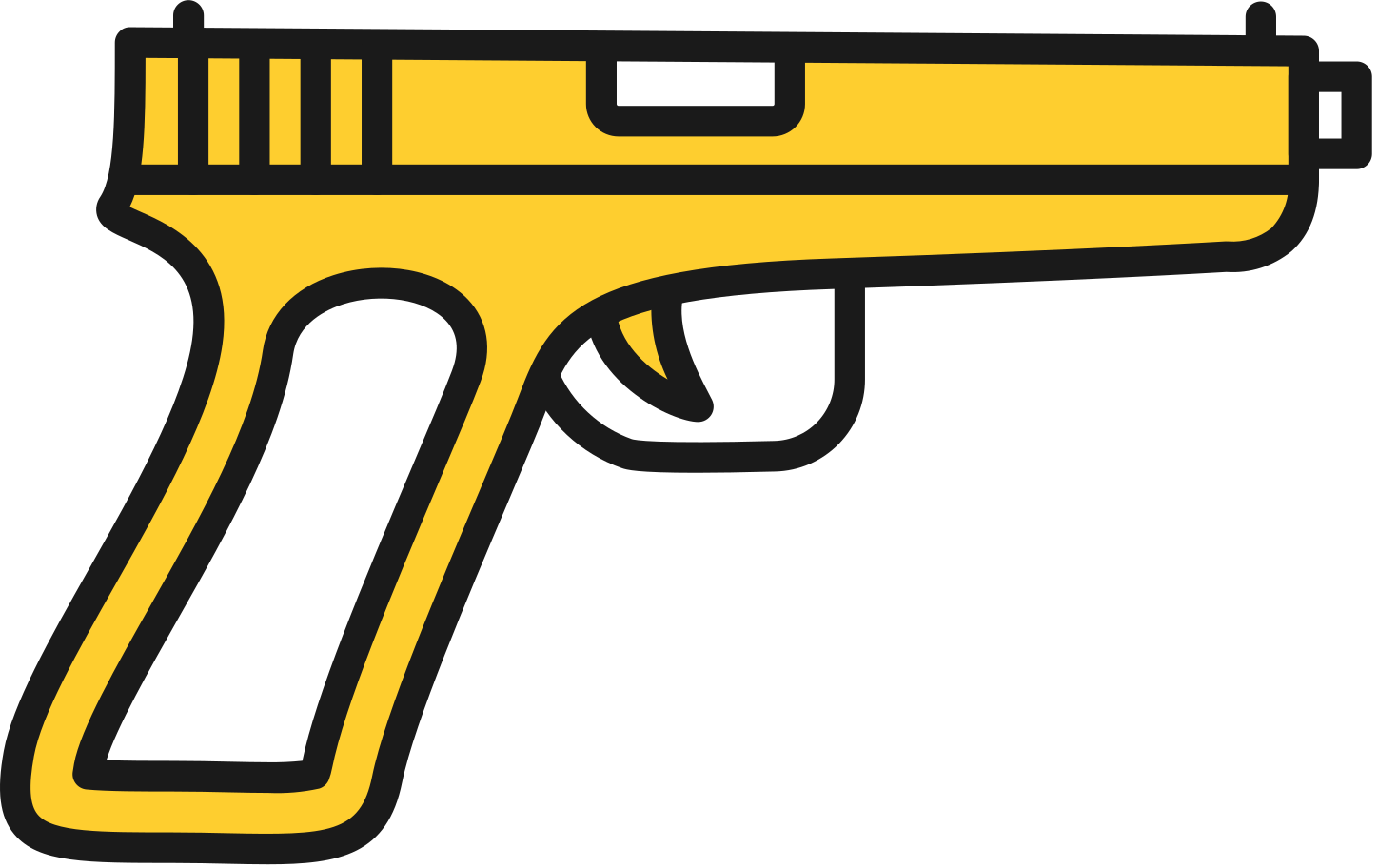 style pistol gun weapon Vector images in PNG and SVG | Icons8 Illustrations