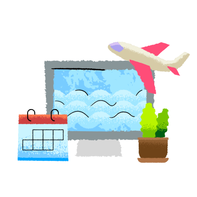 style Vacation planning  images in PNG and SVG | Icons8 Illustrations