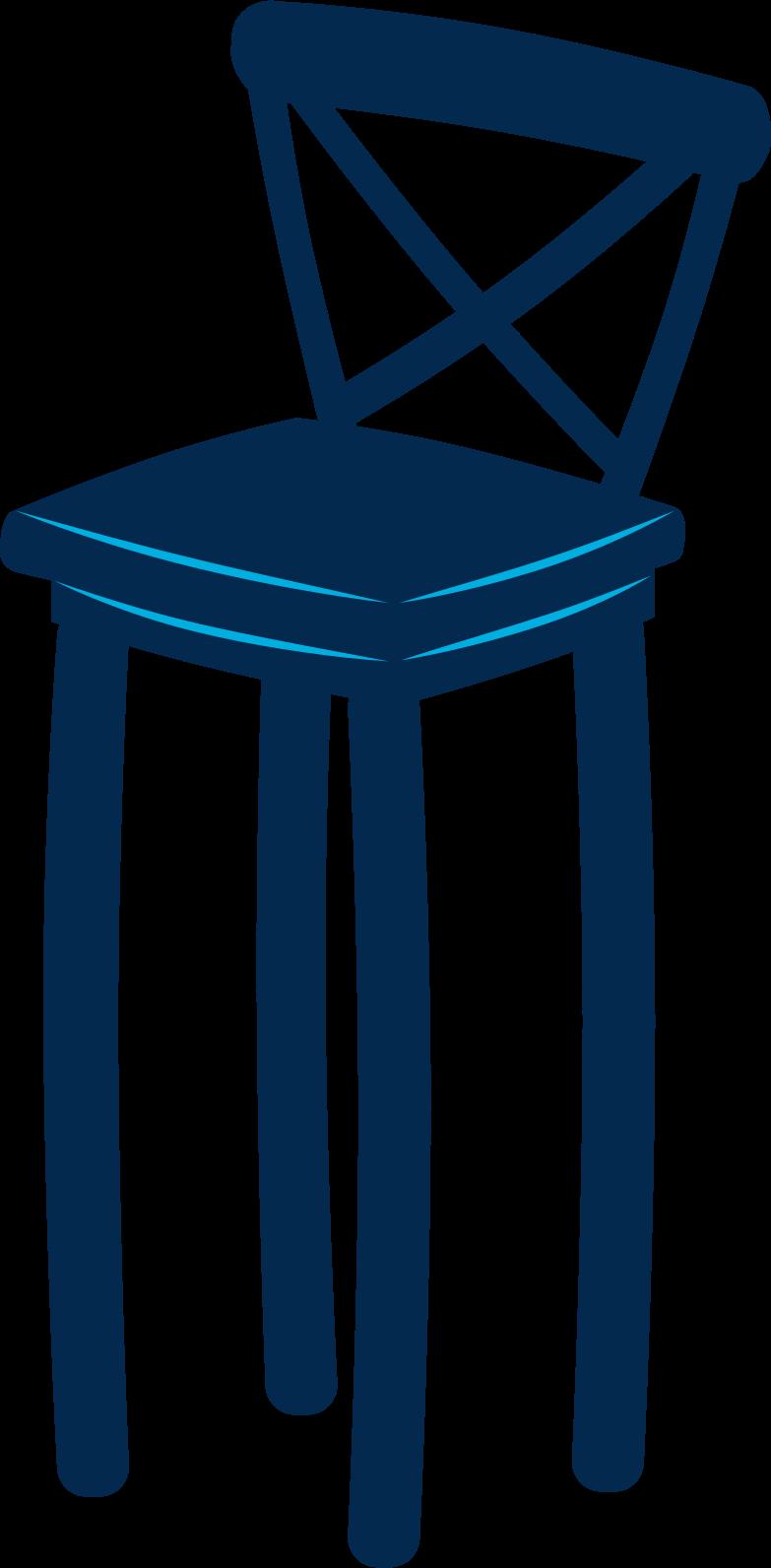 bar stool Clipart illustration in PNG, SVG