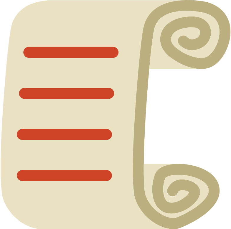 scroll Clipart illustration in PNG, SVG