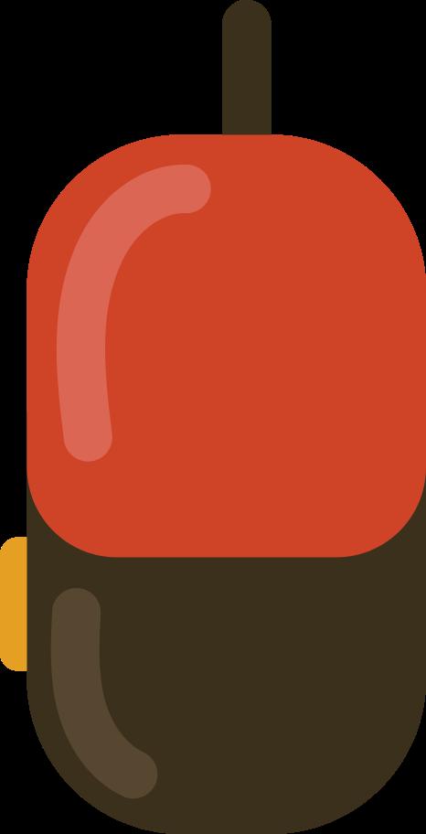 school bag side Clipart illustration in PNG, SVG