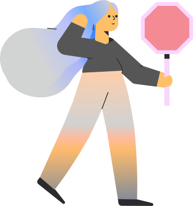 style girl with sign images in PNG and SVG   Icons8 Illustrations