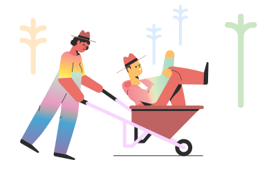 style Wheelbarrow images in PNG and SVG | Icons8 Illustrations