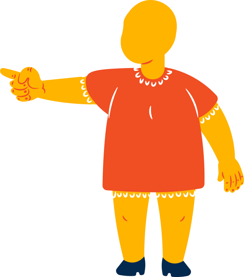 style fat girl points Vector images in PNG and SVG | Icons8 Illustrations