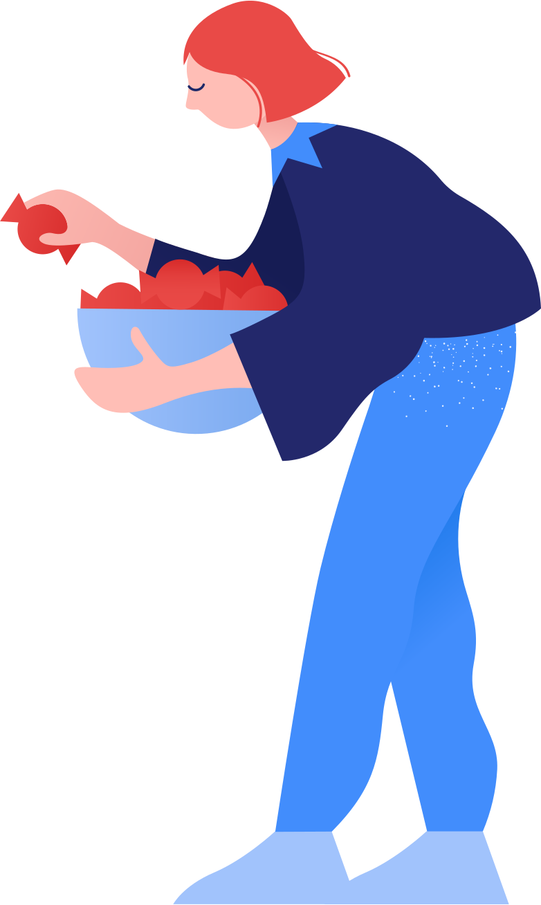 style woman with sweets Vector images in PNG and SVG | Icons8 Illustrations