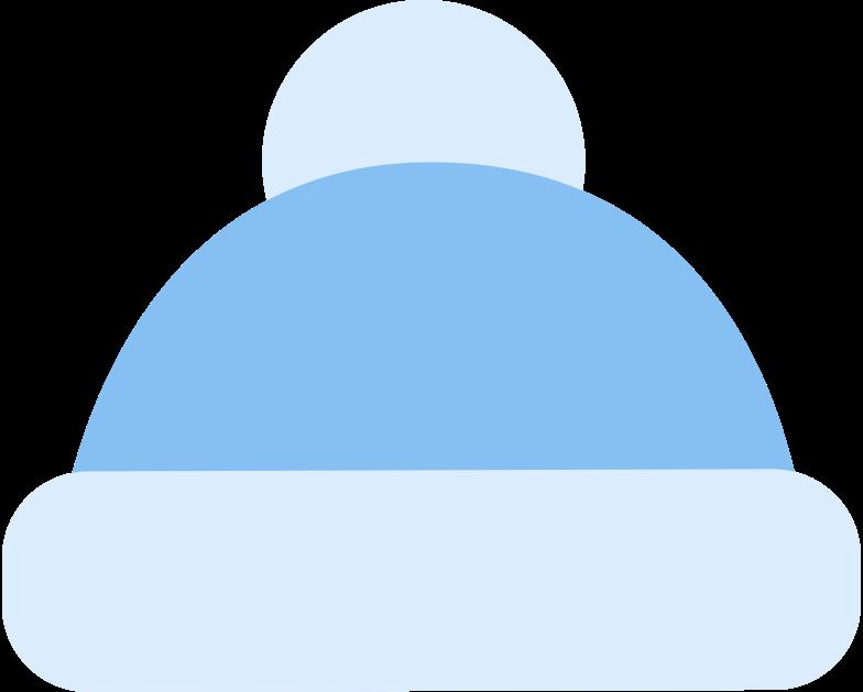 bobble hat Clipart illustration in PNG, SVG