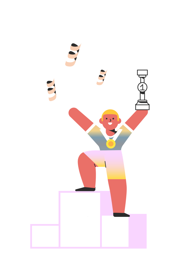 Winning competition Clipart illustration in PNG, SVG