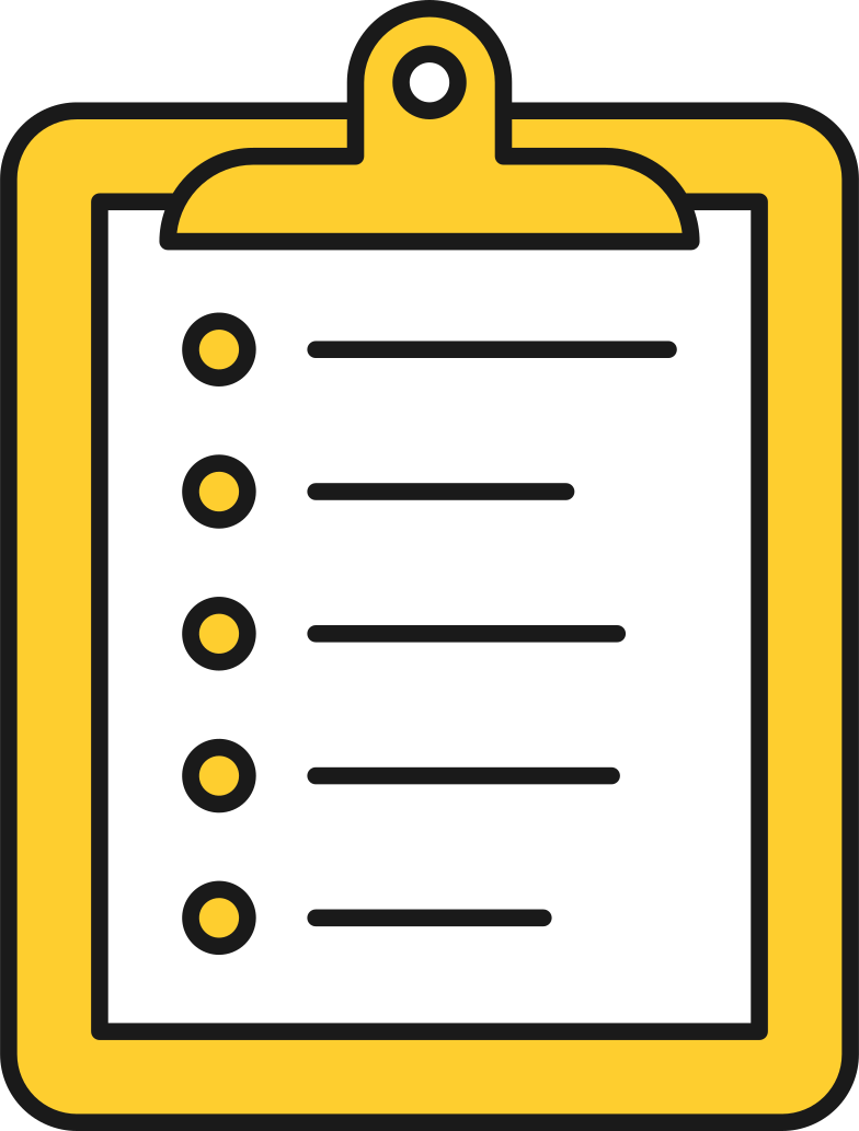 style pad with list Vector images in PNG and SVG | Icons8 Illustrations