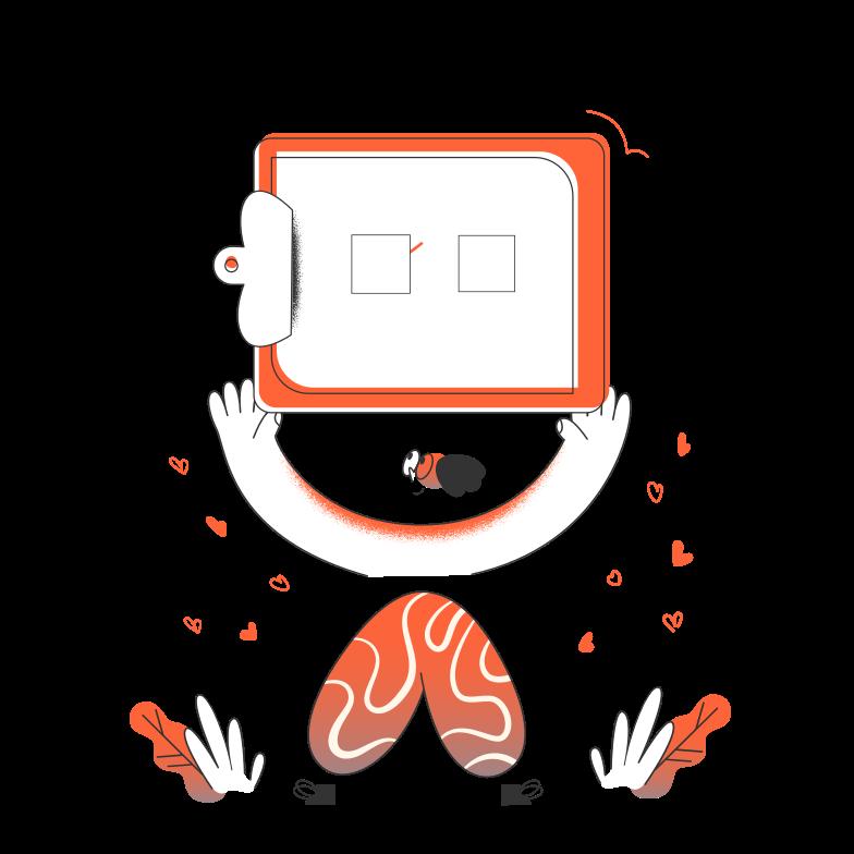 Ilustración de clipart de Tarea terminada en PNG, SVG
