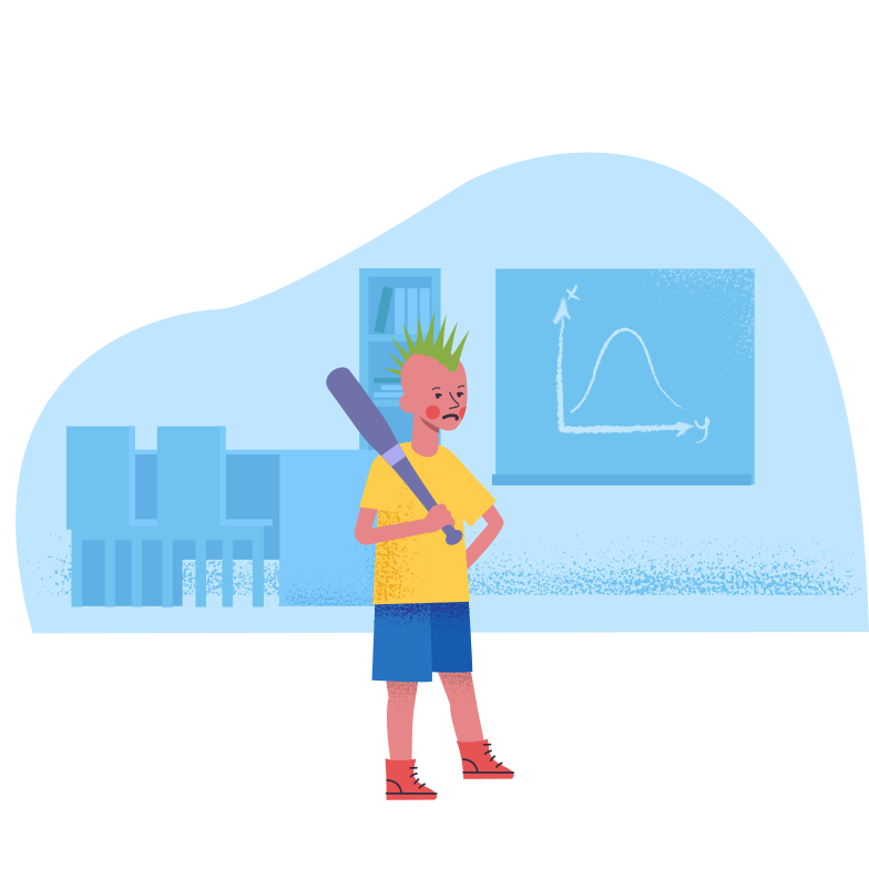 style Bully boy at the school Vector images in PNG and SVG | Icons8 Illustrations