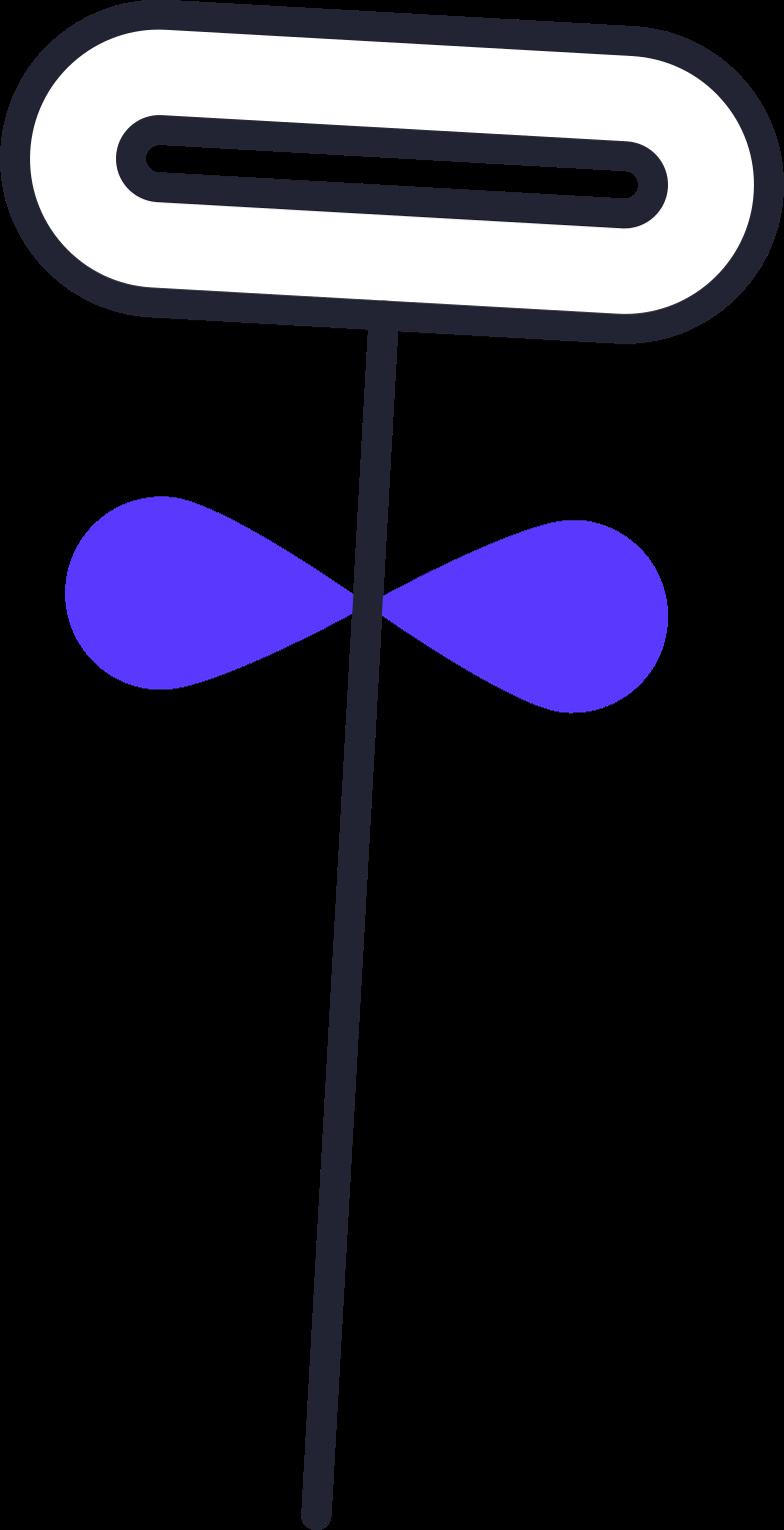 education  flower Clipart illustration in PNG, SVG