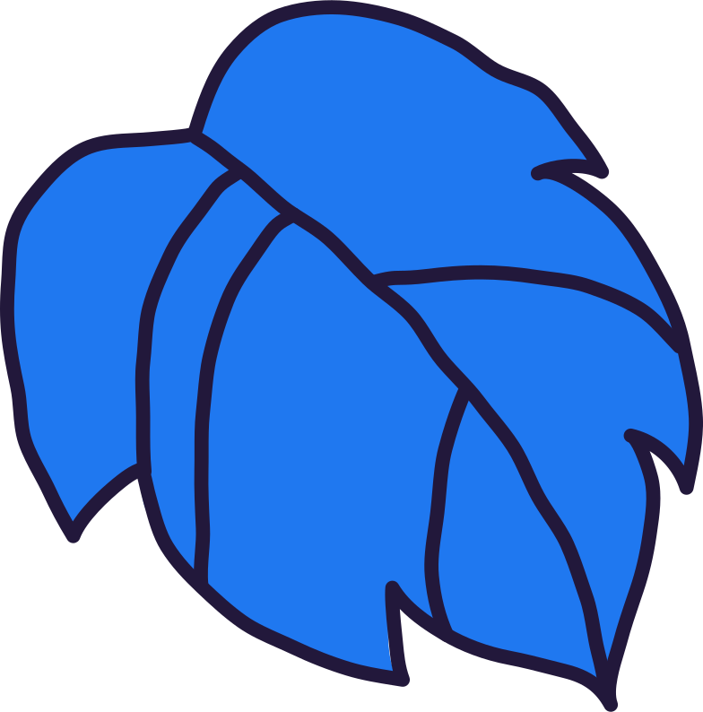 grape leaf Clipart illustration in PNG, SVG