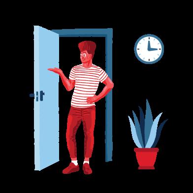 Иллюстрация Добро пожаловать в стиле  в PNG и SVG | Icons8 Иллюстрации