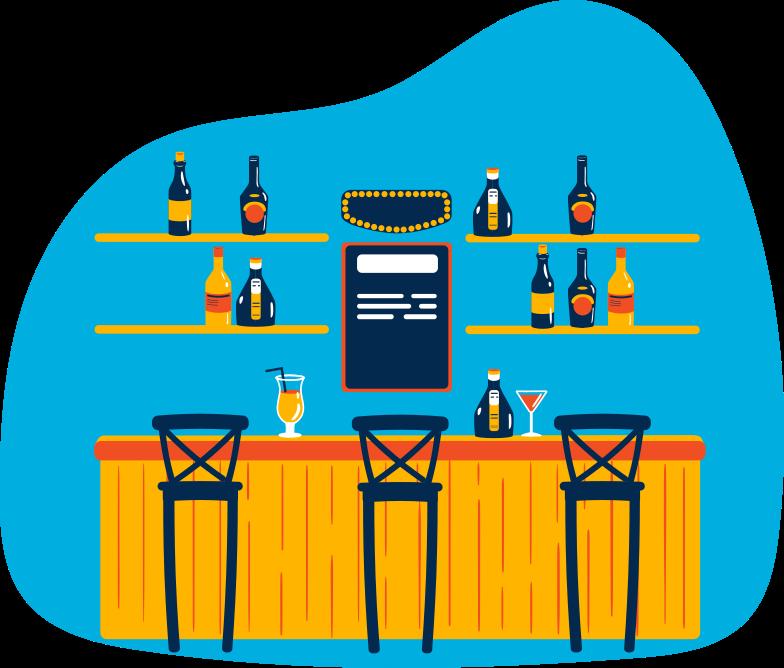bar Clipart illustration in PNG, SVG