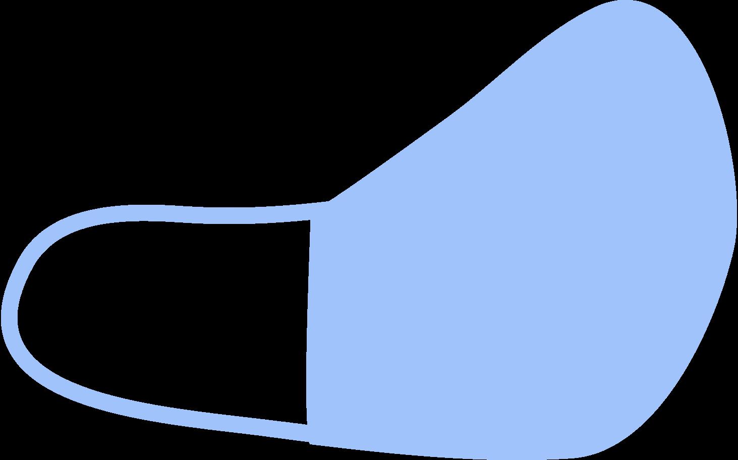 Ilustración de clipart de Mascarilla-protectora en PNG, SVG