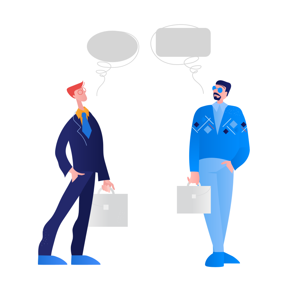 Colleagues Clipart illustration in PNG, SVG