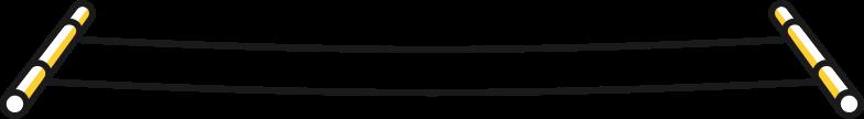 clothesline Clipart illustration in PNG, SVG
