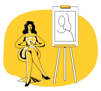style Portrait images in PNG and SVG | Icons8 Illustrations