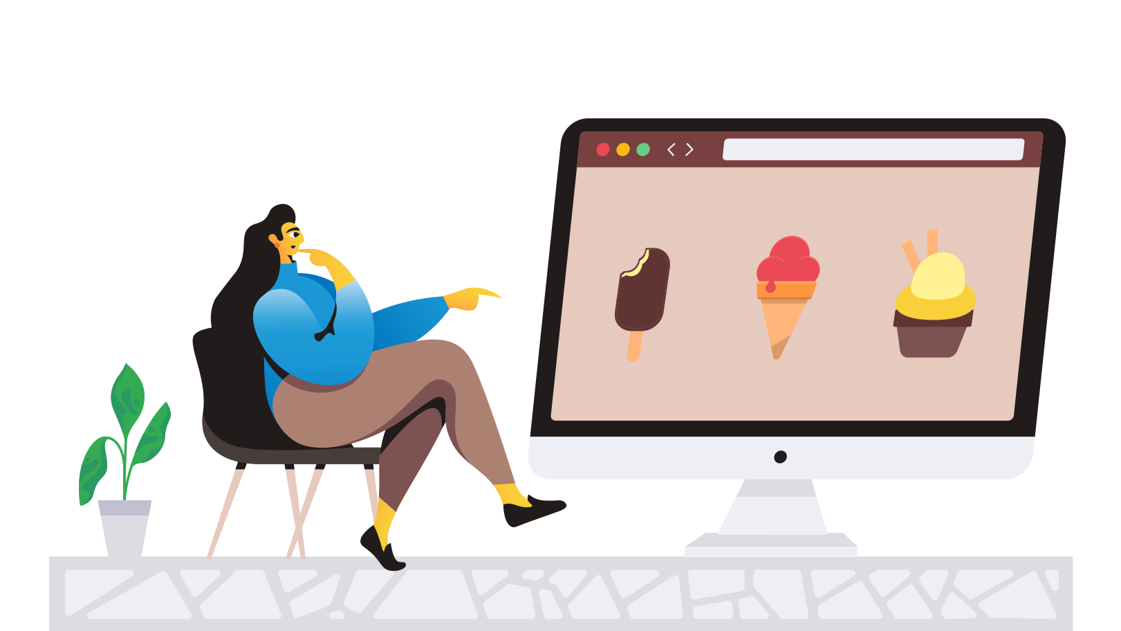 Online store Clipart illustration in PNG, SVG