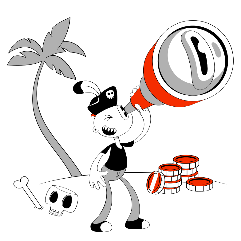 The Pirate Clipart illustration in PNG, SVG