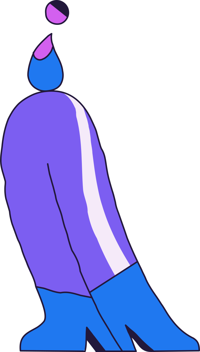 page not found  standing person Clipart illustration in PNG, SVG