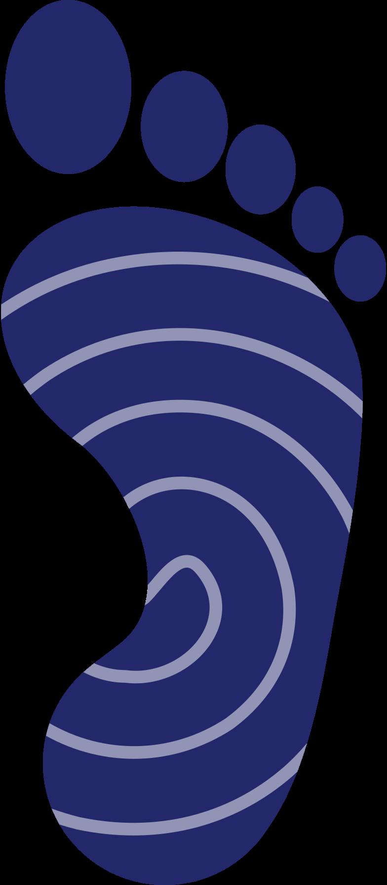 footprint Clipart illustration in PNG, SVG