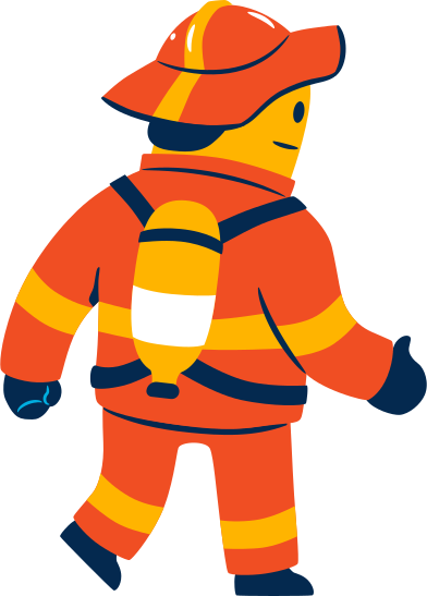 style fireman images in PNG and SVG | Icons8 Illustrations