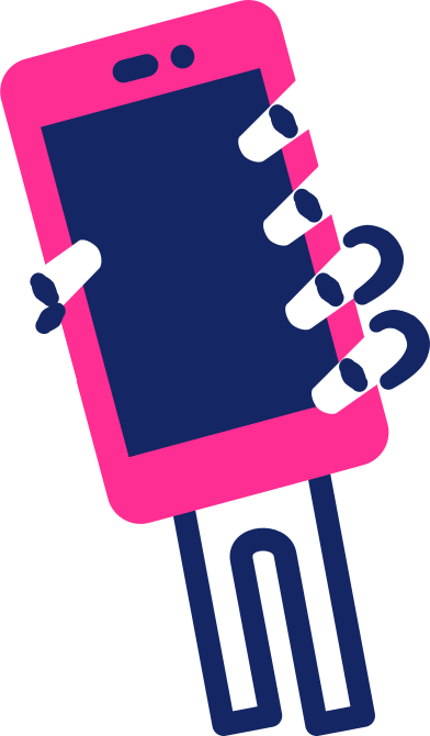 style スマートフォンでスケルトンの手 images in PNG and SVG | Icons8 Illustrations