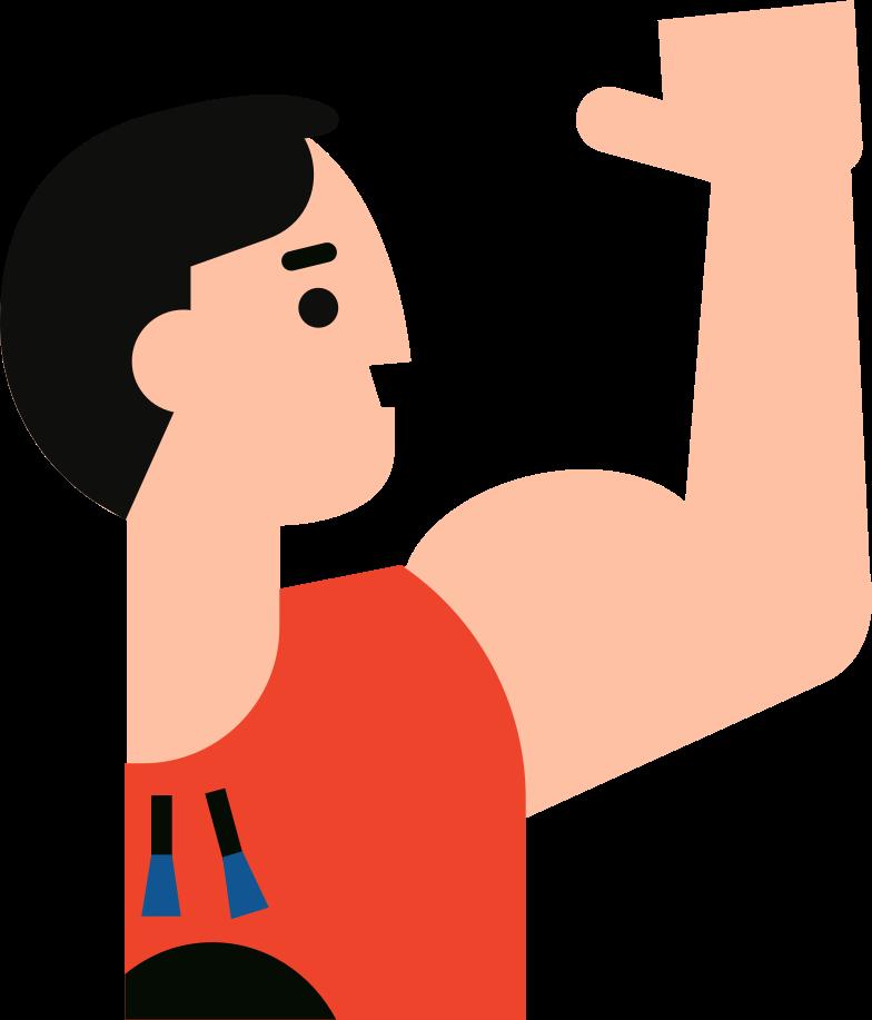 sportsman Clipart illustration in PNG, SVG