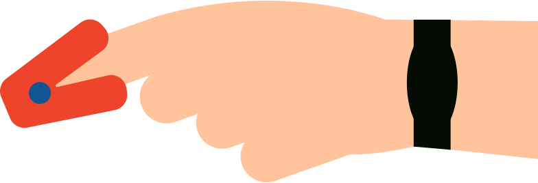 pulse oximeter Clipart illustration in PNG, SVG